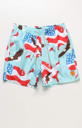 "Trunks Ambsn 'Merica 15"" Swim"