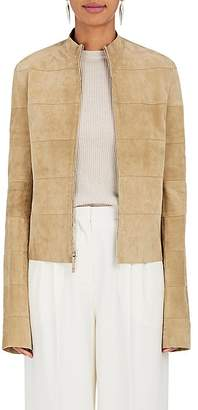 The Row Women's Sonra Suede Zip-Front Jacket