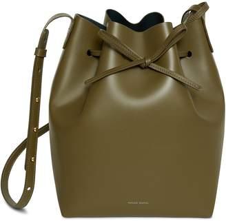 Mansur Gavriel Calf Bucket Bag - Olive