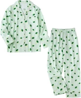 YUMMY MART/YMフランネルプリントシャツパジャマ