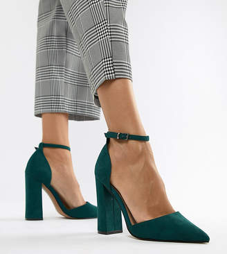 Asos Design DESIGN Pebble pointed high heels
