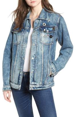 Hudson Oversize Denim Trucker Jacket