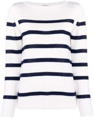 A.P.C. striped fine knit sweater