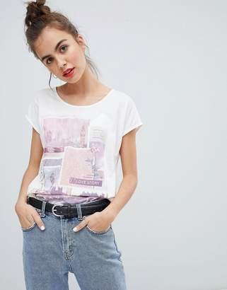Blend She Kane Print Front T-Shirt