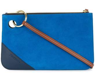 J.W.Anderson colour block clutch