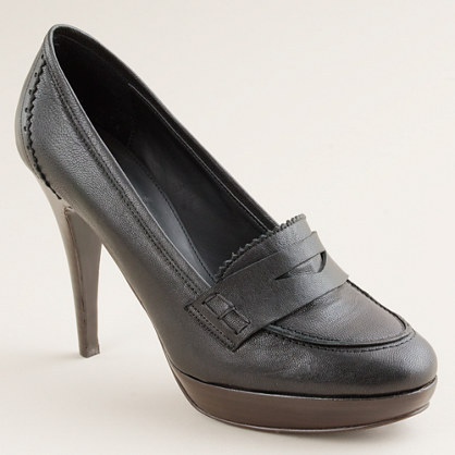 Biella high-heel loafers