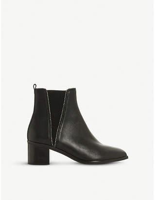 Dune Portobello studded leather chelsea boots
