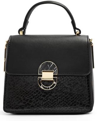 Topshop Mini Celia Faux Leather Crossbody Bag