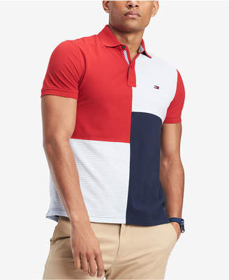 Tommy Hilfiger Men's Stevans Custom Fit Polo