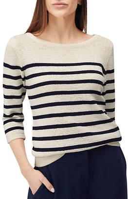 Precis Petite Tape Stripe Yarn Sweater