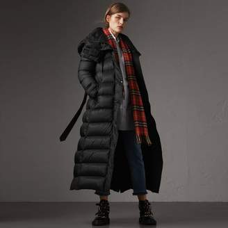 Burberry Detachable Hood Long Down-filled Puffer Coat