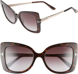 Tom Ford Gianna 54mm Sunglasses
