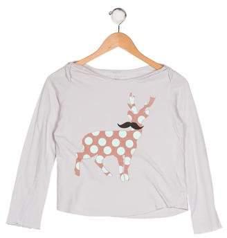 Stella McCartney Girls' Printed Knit Top