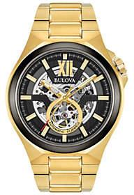 Bulova Men's Automatic Goldtone Bracelet Watch