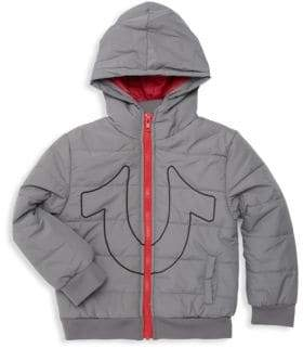 True Religion Little Boy's Quilted Puffer Jacket