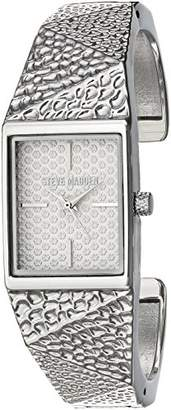Steve Madden Women's Quartz -Tone and Stainless Steel Fashion Watch