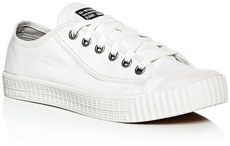 G-STAR RAW Rovulc Herringbone Denim Lace Up Sneakers $79.95 thestylecure.com