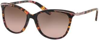 Cat Eye Ralph By Ralph Lauren Eyewear Essential 54mm Extended Temple Inlayed Cat-Eye Sunglasses