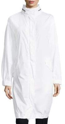 Vince Long Sleeves Cotton Coat