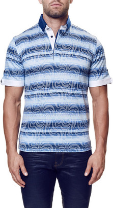 Maceoo Contemporary Fit Polo (Big & Tall Available) $98 thestylecure.com