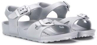 Birkenstock Kids buckle flat sandals