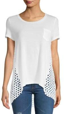 Hi-Lo Pocket T-Shirt