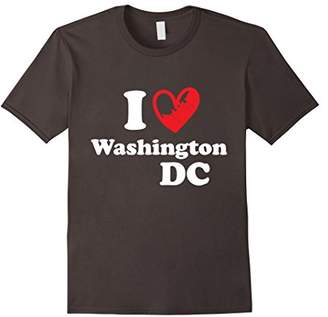 I Love Washington DC TShirt USA Vintage Travel Gift Shirt