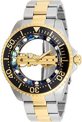 Invicta Men's 'Pro Diver' Mechanical Hand Wind Stainless Steel Watch