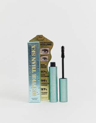 Too Faced Cosmetics Better Than Sex Waterproof Mascara