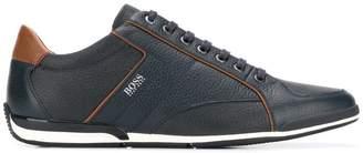 HUGO BOSS logo branded sneakers