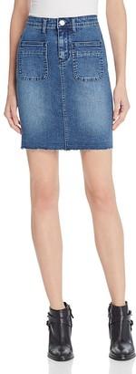 RES Denim Muse Denim Skirt $100 thestylecure.com
