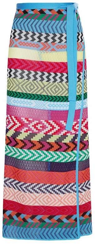 Evaris Long Knit Skirt