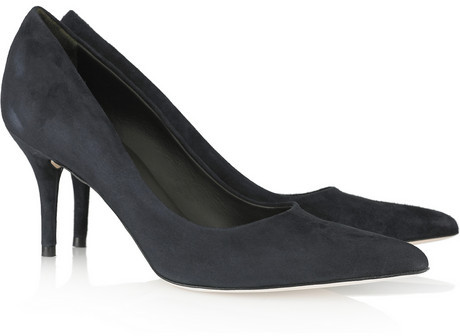 Calvin Klein Collection Kit pointed suede pumps