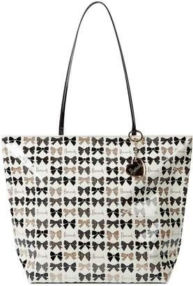 Harrods Glitter Bows Shoulder Tote Bag