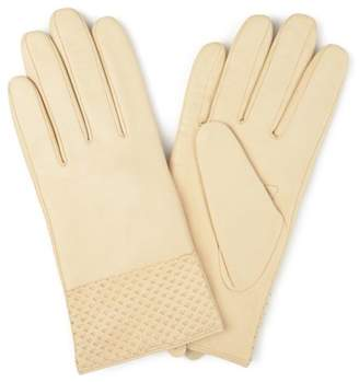 Brinley Co. Womens Genuine Leather Fashion Gloves