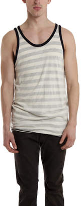 V::room Reverse Stripe Tank Top