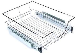 Yosoo YOSOO Pull Out Cabinet Organizer Drawer Basket Wire Slide Roll Kitchen Storage Cupboard