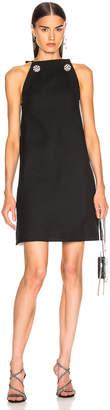Calvin Klein Embellished Dress in Black   FWRD