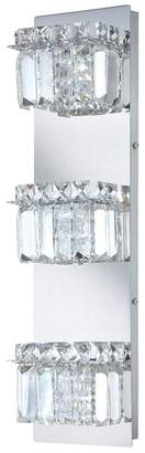 Alico Crown 3-Light Bathroom Vanity Light in Chrome