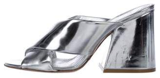 Maison Margiela Metallic Slide Sandals