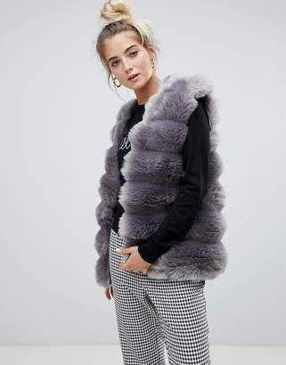 Paige Willow and Willow & faux fur vest