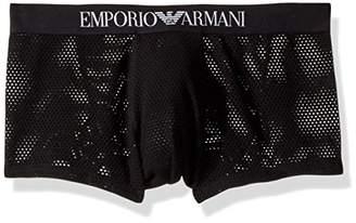 Emporio Armani Men's Tech Mesh Trunk