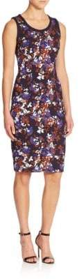 Mother of Pearl Napier Floral Sheath Dress