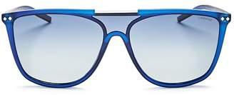 Polaroid Zero Base Polarized Square Sunglasses, 57mm $65 thestylecure.com