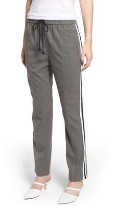Rebecca Minkoff Nora Microcheck Drawstring Pants