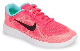 Girl's Nike Free Run 2 Athletic Shoe $80 thestylecure.com
