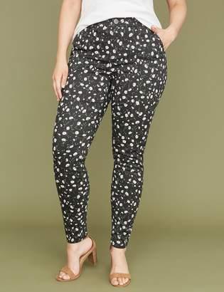 Lane Bryant Utility Skinny Pant - Floral