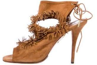 Aquazzura Sexy Fringe 105 Sandals