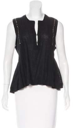 Etoile Isabel Marant Studded Sleeveless Top