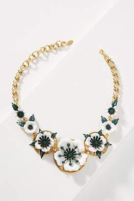 Elizabeth Cole Phoenix Anemone Bib Necklace